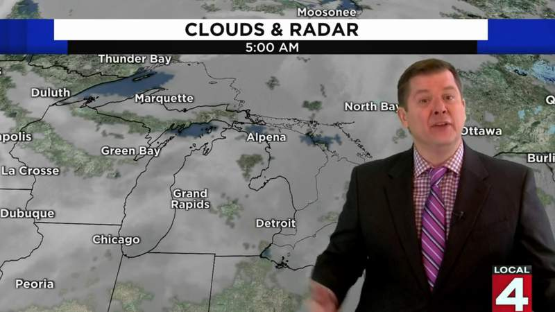 Metro Detroit weather forecast for Jan. 13, 2021 -- morning update