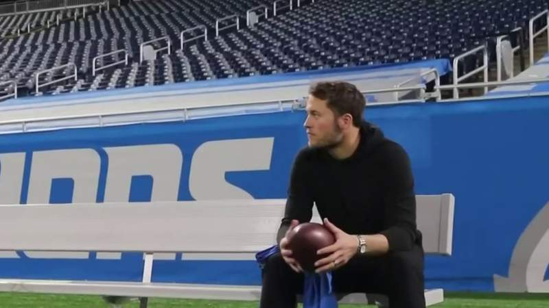 Matthew Stafford leaves Detroit with heavy heart: 'A lot of great memories here'