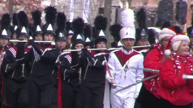 GF Default - Chippewa Valley High School marching band performs at 2019 America's Thanksgiving Parade