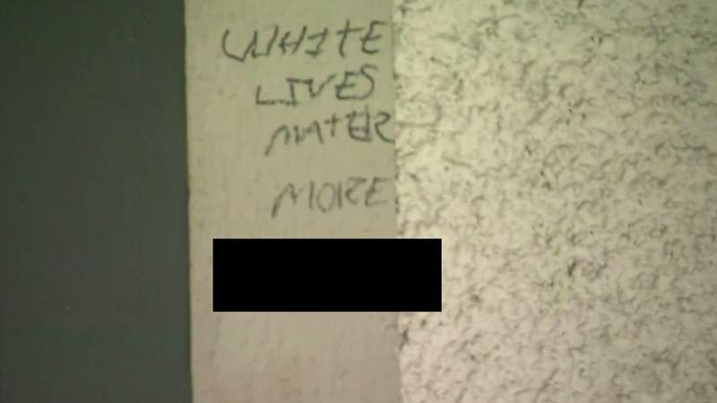 Racist message found written on Ann Arbor family home