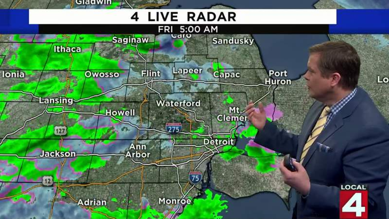 Metro Detroit weather forecast for March 6, 2020 -- morning update
