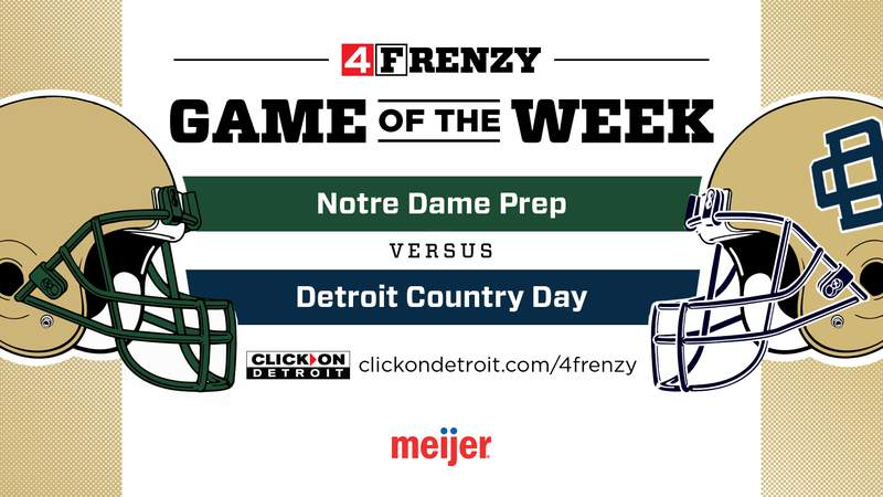 4Frenzy Game of the Week - Notre Dame Prep vs Detroit Country Day
