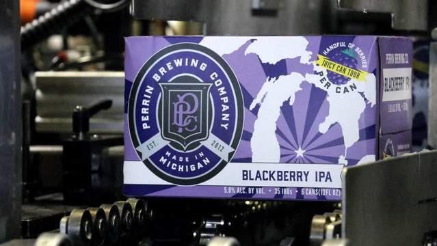 Perrin Brewing Co.'s Blackberry IPA is a seasonal release. (Photo: Perrin)
