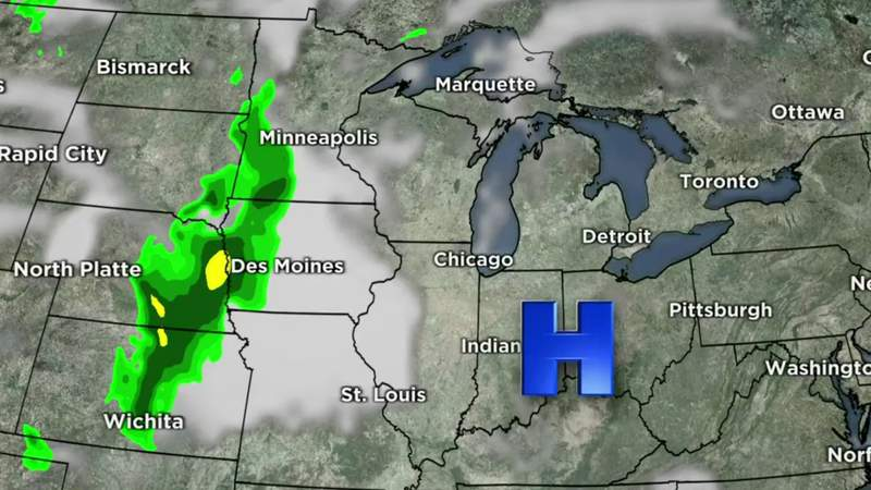 Metro Detroit weather forecast May 13, 2021 -- 11 p.m. Update