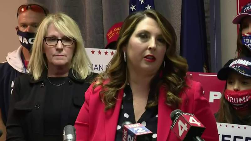 Republican Party chair calls for investigation into Michigan ballot counting process