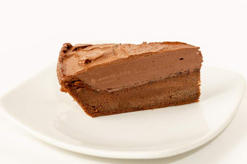 The Joffre is a staple Romanian dessert made up of a thick chocolate ganache and a buttermilk chocolate cake.