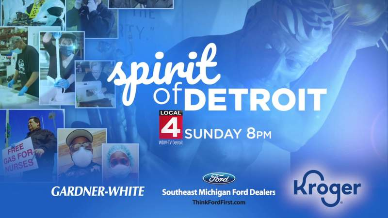 Sunday at 8 - Catch the Spirit of Detroit with good-news stories from across the city