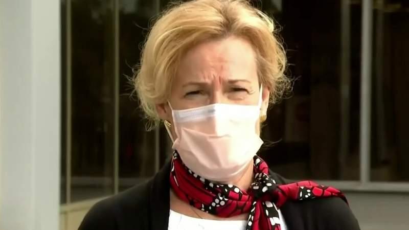 Dr. Deborah Birx visits Michigan, talks state's response to COVID-19, urges mask use