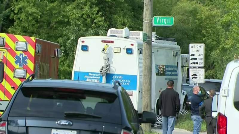 One person held hostage released in standoff in Detroit's west side