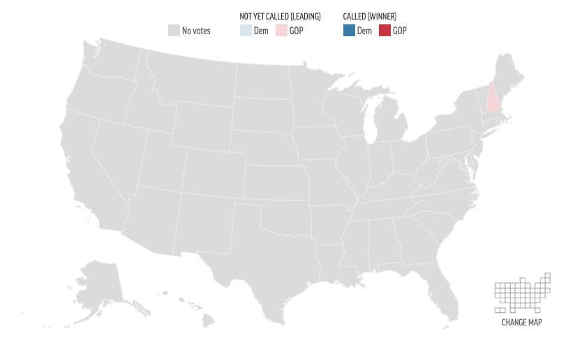 Us Election Results State Map View map: State by state presidential results for Nov. 3, 2020
