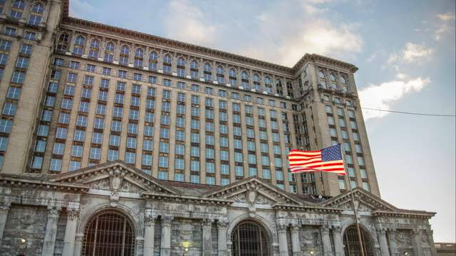 Michigan Central Station (Amber Ainsworth/WDIV)