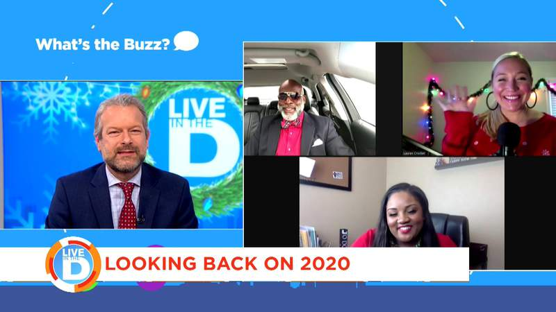 What's The Buzz is looking back on 2020 on Live in the D