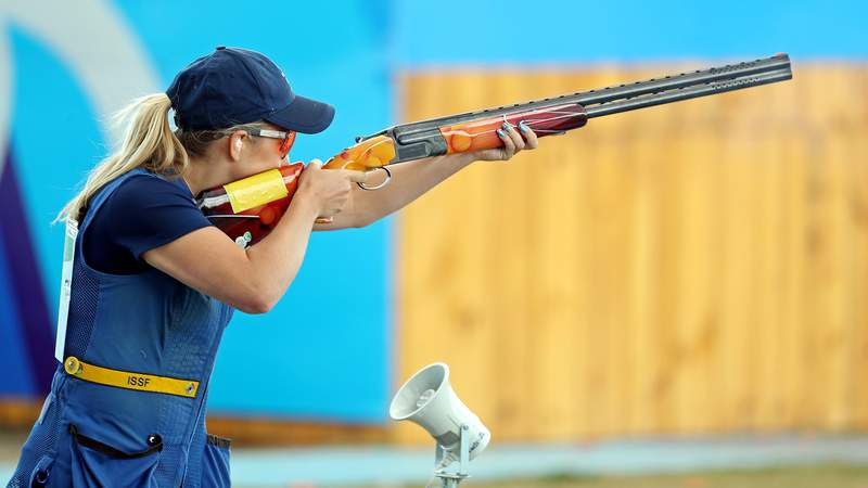 Amber Hill, 23, tested positive for COVID-19 ahead of her departure for the Tokyo Olympics.