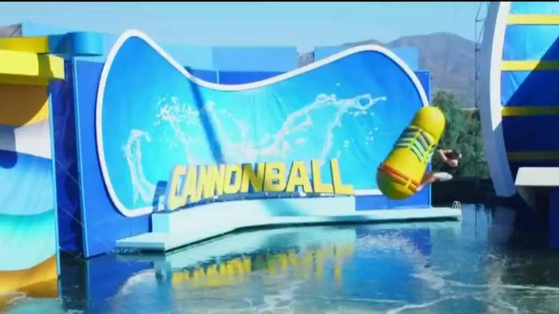 """Making a splash on """"Cannonball"""" on Live in the D"""