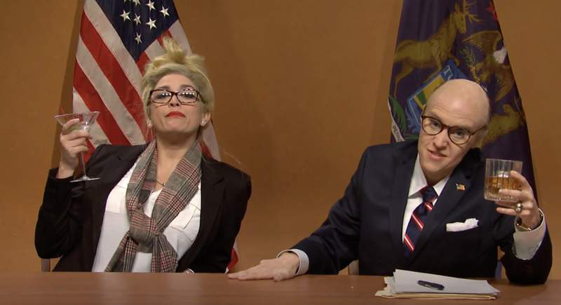 SNL cold open on Dec. 5, 2020.