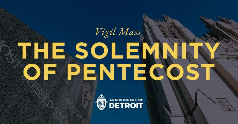 The mass will be held on Saturday, May 22 beginning 7 p.m. at the Cathedral of the Most Blessed Sacrament in Detroit.