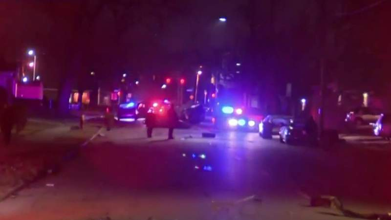 Driver killed in high-speed crash on Detroit's west side