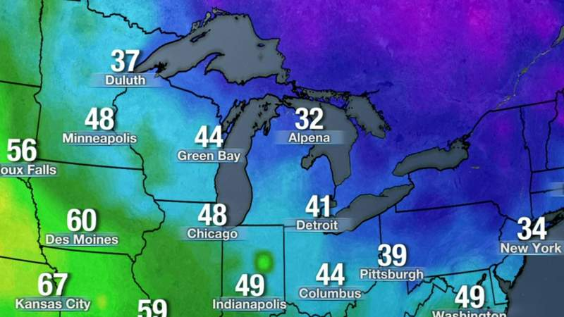 Metro Detroit weather: Frigid Saturday night, chilly Sunday, March 6, 2021, 11 p.m. update