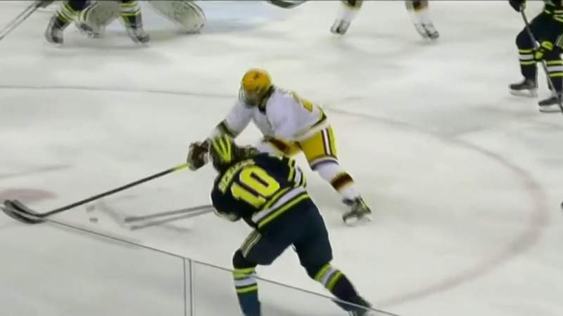 Michigan hockey team removed from NCAA tournament due to COVID-19 protocols