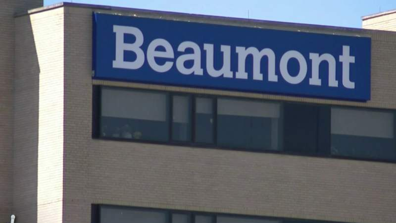 Beaumont Hospital sign