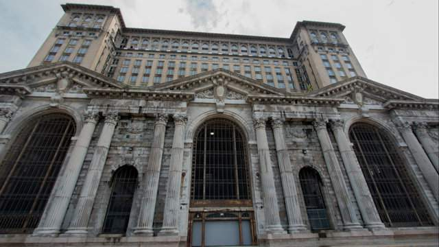 Michigan Central Station has loomed vacant over Detroit for three decades. (Amber Ainsworth/WDIV)