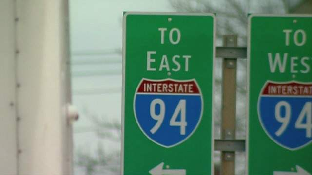 I-94 signs in Michigan (WDIV)