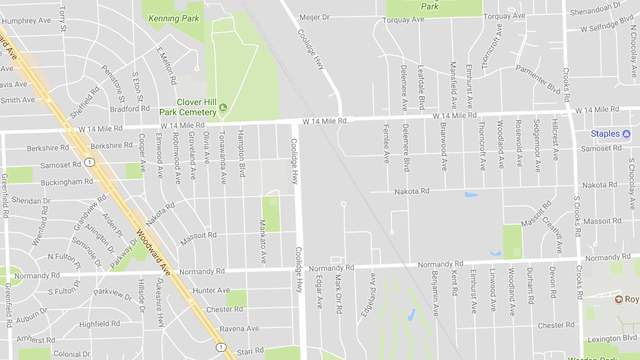 A strong odor has been reported in the area of 14 Mile Road and Coolidge Highway.