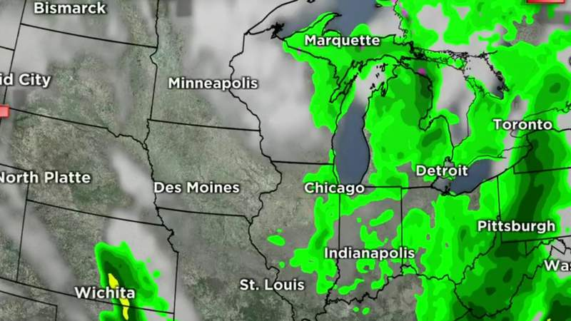 Metro Detroit weather forecast for May 6, 2021 -- 6 p.m. Update
