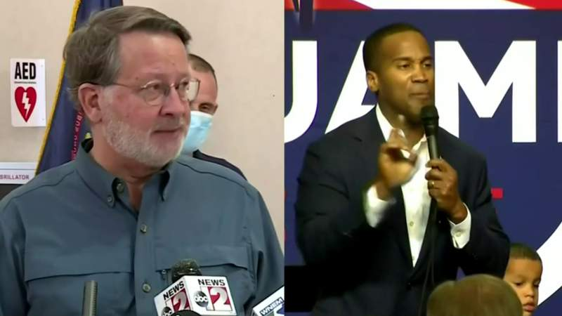 Exclusive poll results: Senate race tightening between Gary Peters, John James