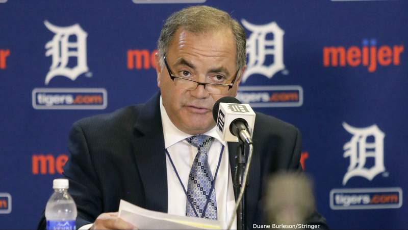 Detroit Tigers General Manager Al Avila during a news conference Feb. 10, 2017. (WDIV)