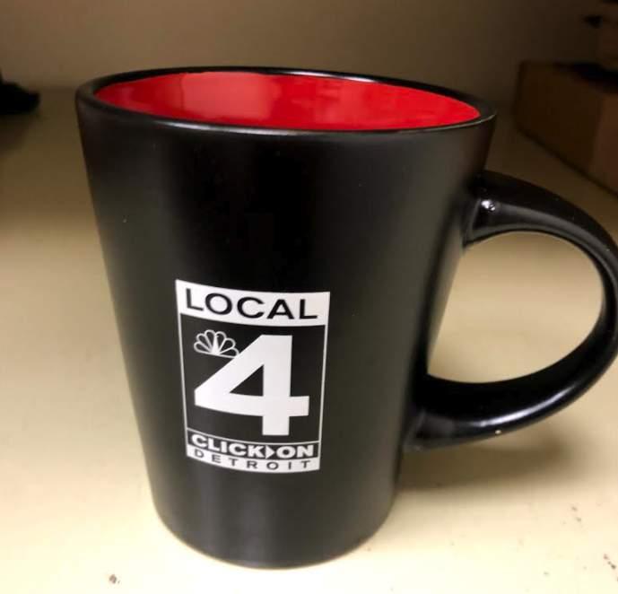 Local 4 coffee mug.