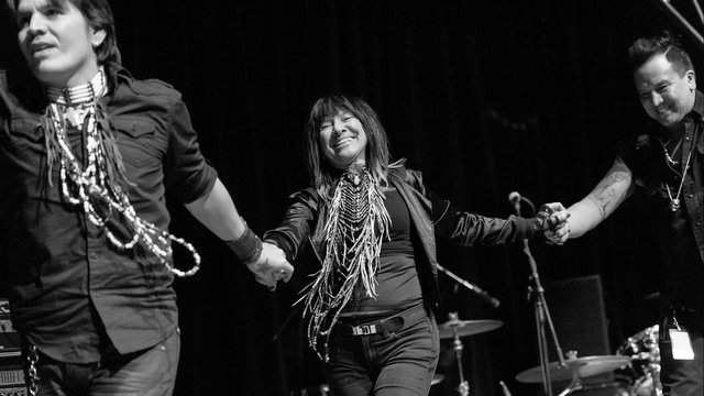 Buffy Sainte-Marie in 2015 (Photo: Andrew Rogers)