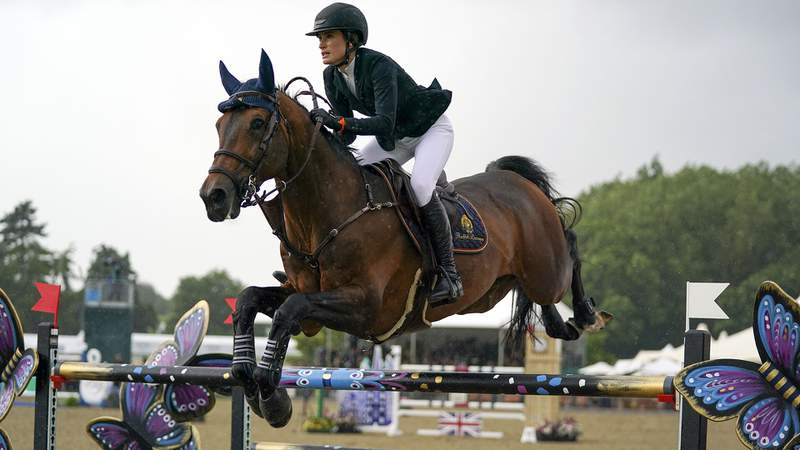 The U.S. Equestrian jumping team has been announced for the Tokyo Olympics.