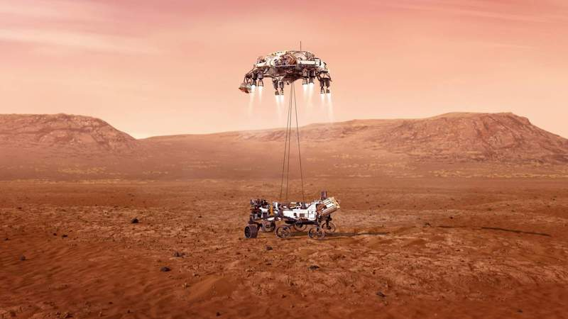 Mission to Mars: NASA prepares to land rover on red planet
