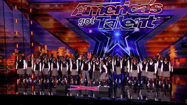 The Detroit Youth Choir performing on America's Got Talent (NBC)