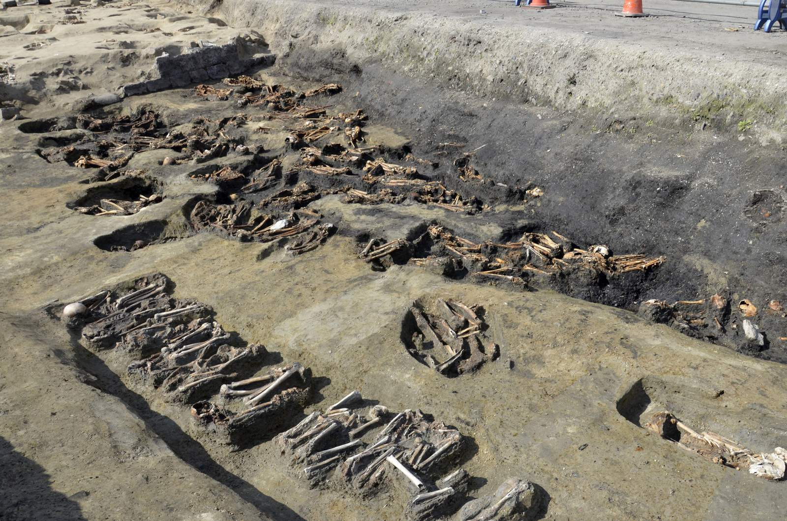 Remains dug from Japan mass grave suggest epidemic...