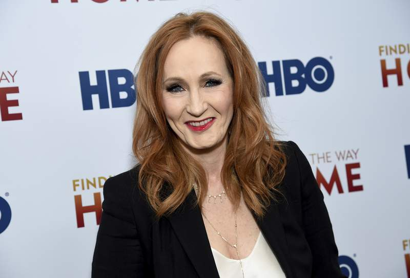 """FILE - In a Wednesday, Dec. 11, 2019 file photo, author and Lumos Foundation founder J.K. Rowling attends the HBO Documentary Films premiere of """"Finding the Way Home"""" at 30 Hudson Yards, in New York. Harry Potter author J.K. Rowling has fallen under scrutiny after her series of tweets Saturday, June 6, 2020 were deemed as trans phobic.(Photo by Evan Agostini/Invision/AP, File)"""