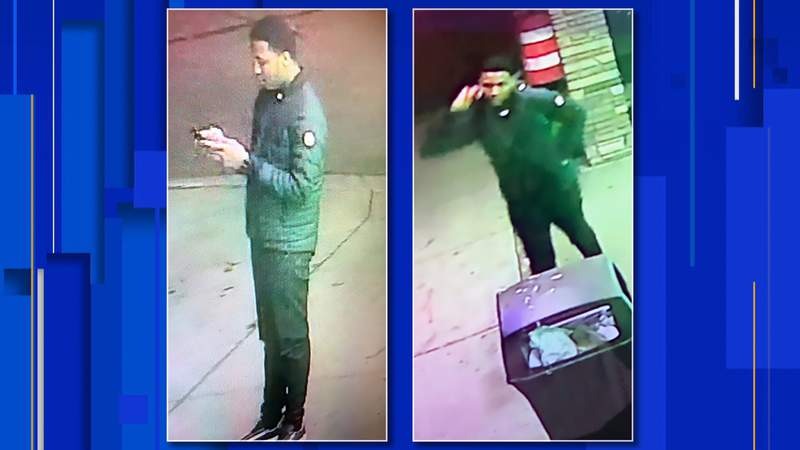 Detroit police want to speak with a person of interest concerning an incident on Eight Mile Road.