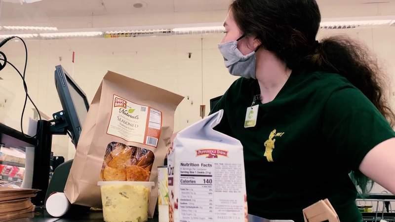 Frontline Heroes: Grocery store workers