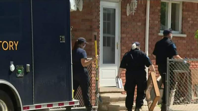 Trenton neighbors react to human skull found in fire pit by new homeowners
