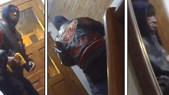 Police are offering a $1,000 reward for information leading to the arrest of a burglar. Images of the suspect were captured on surveillance video during the burglary that happened Saturday on Detroit's west side.
