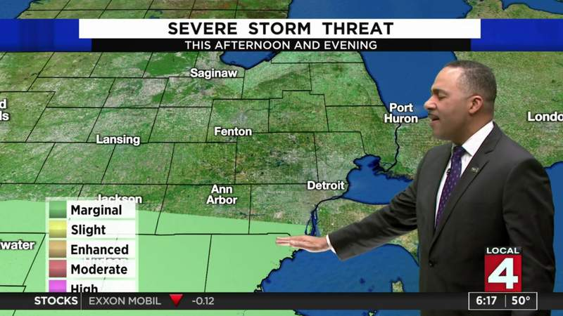 Metro Detroit weather: Warm Saturday with late showers