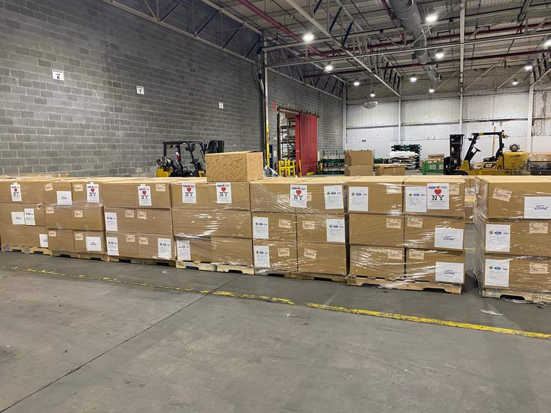 Ford has shipped 1 million face shields across the country to protect front line health care workers fighting COVID-19 in their communities.