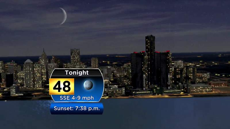 Metro Detroit weather: Cool Sunday evening under clear skies, Sept. 20, 2020, 7 p.m. update