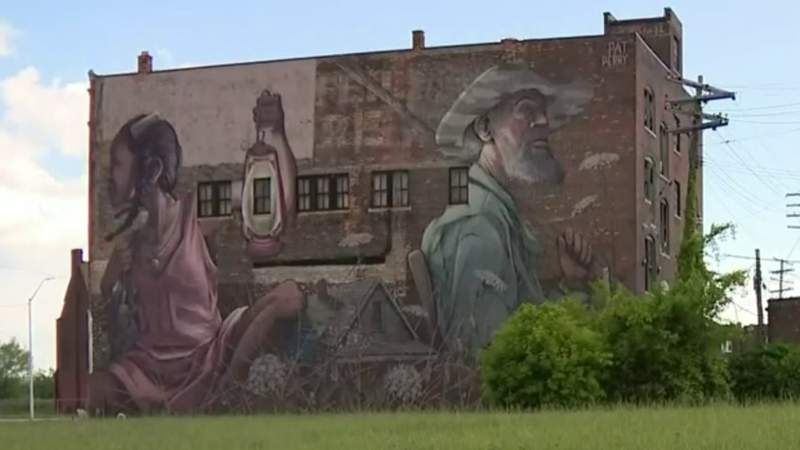The unique history behind a neighborhood mural