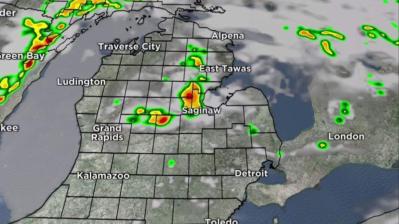 Metro Detroit weather: More sun with small afternoon storm chance, June 10, 2021, noon update