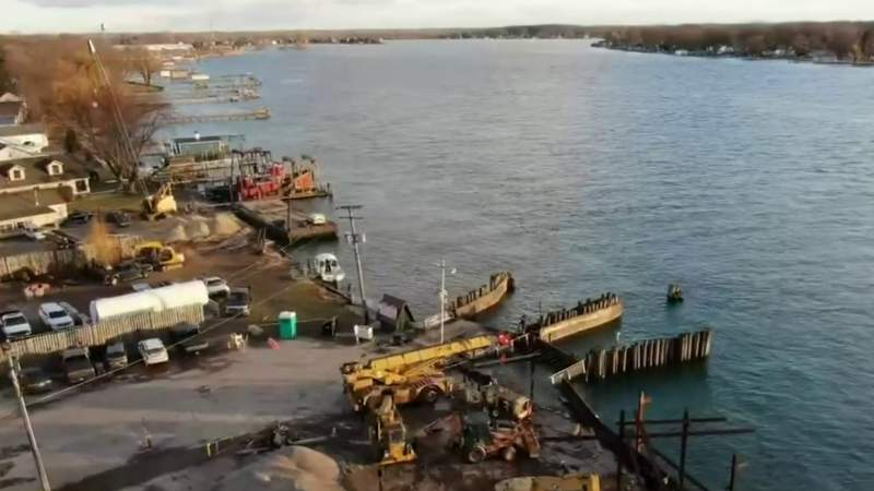 GF Default - 'They need to fix it' -- Harsens Island residents frustrated after dock collapse