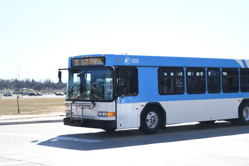 A TheRide bus.