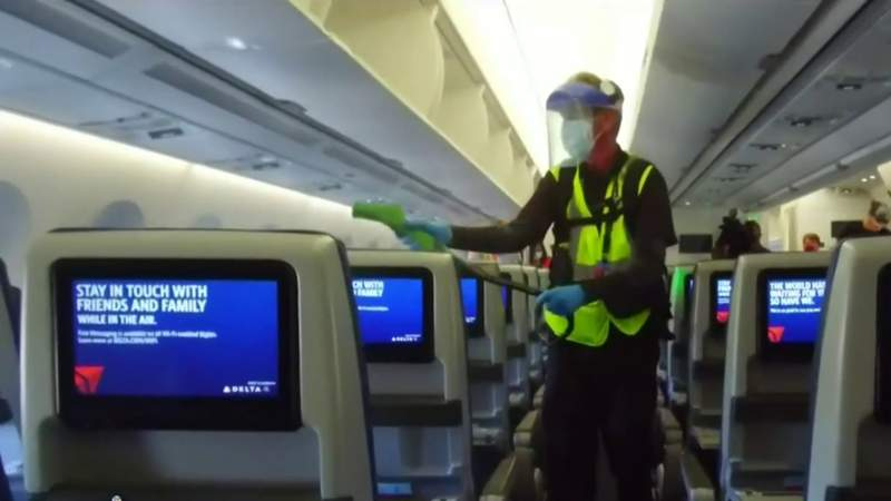 How Delta Airlines is working to keep passengers safe