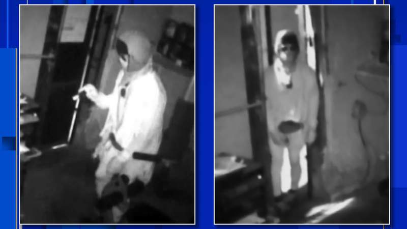 Police are investigating a burglary at a Detroit gas station that happened July 12, 2020.